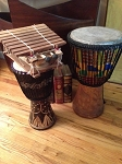 Fair Trade  African Handmade Musical Instruments - Cash & Pick Up - Visiting Southern Delaware Clients ONLY