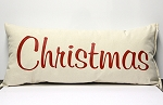 Christmas Pillow Set of 3 Vertical Horizontal Pillows