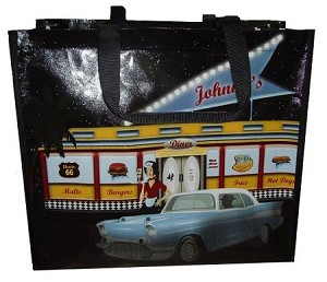 Front of Bag - An American Diner